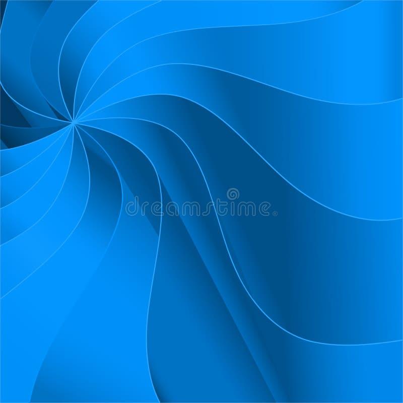 blauwe grafische achtergrond stock illustratie