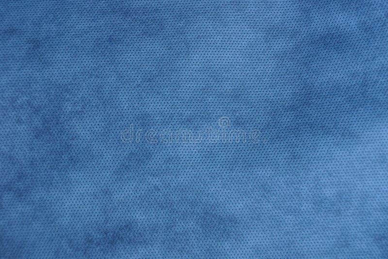 Blauwe grijze donkere stoffentextuur van een stuk van doek royalty-vrije stock fotografie