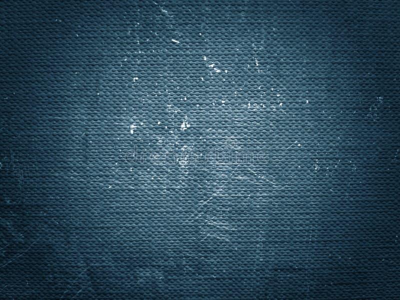 Blauwe grungetextuur Abstracte textuur en achtergrond voor ontwerpers Uitstekende document achtergrond Ruwe blauwe textuur van do stock afbeelding