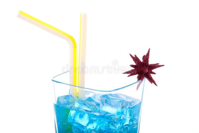 Blauwe Hawaiiaanse Cocktail royalty-vrije stock fotografie