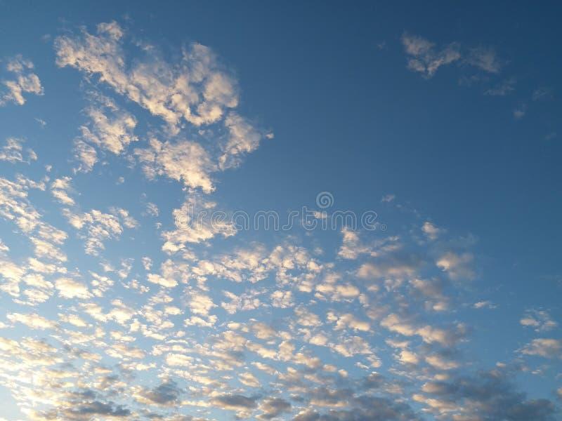 Blauwe hemel royalty-vrije stock foto