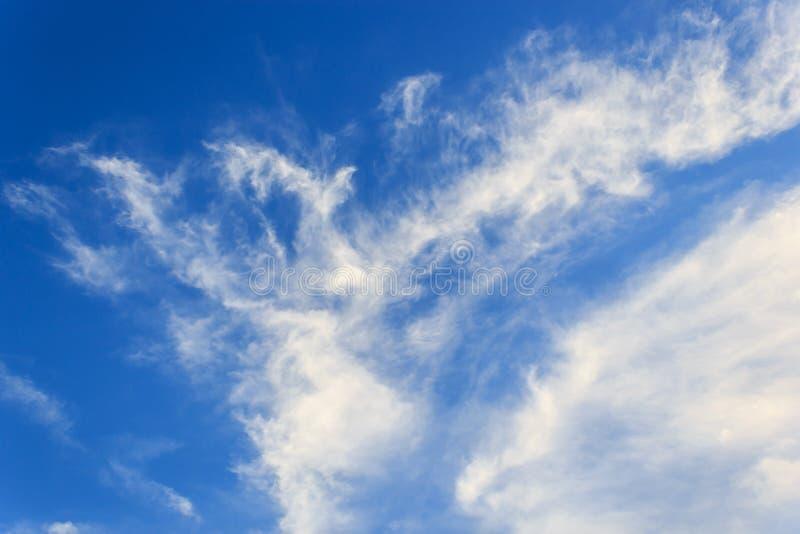 Blauwe hemel royalty-vrije stock fotografie