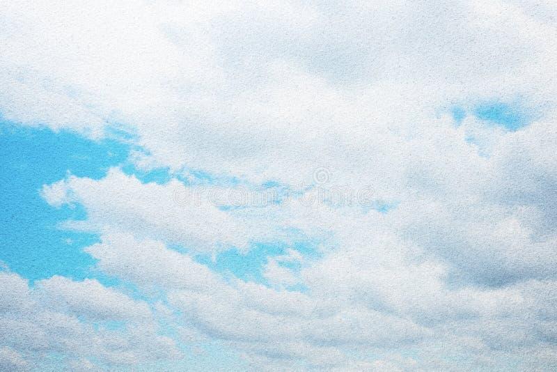 Blauwe hemel berijpte glastextuur als achtergrond royalty-vrije stock afbeelding
