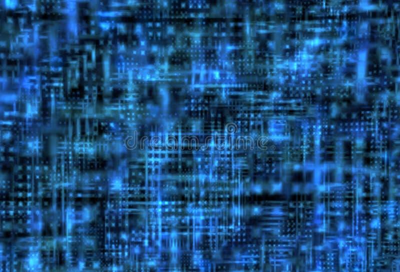 Blauwe high-tech achtergrond royalty-vrije illustratie
