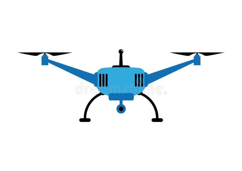 Blauwe Hommel vector illustratie