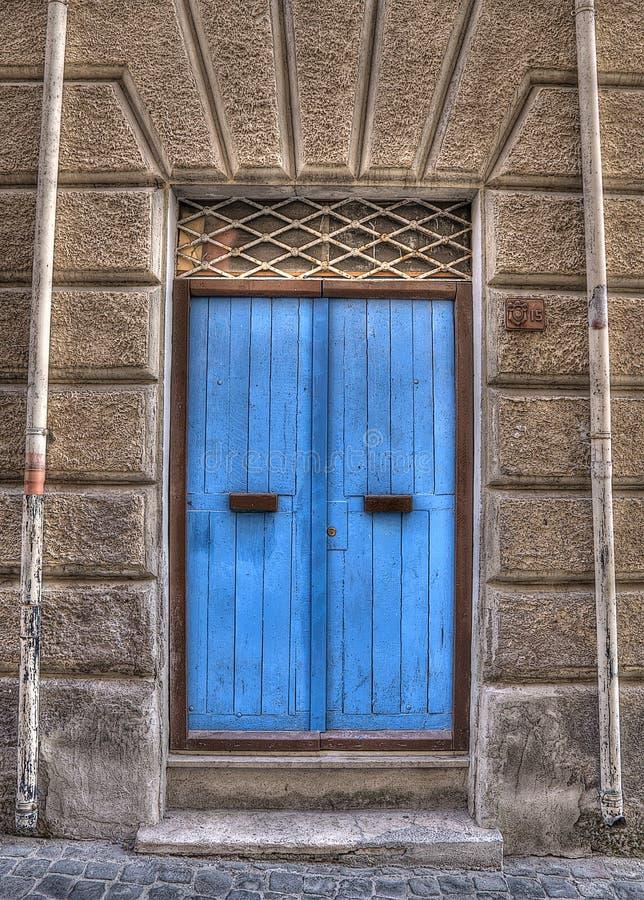 Blauwe HoofdIngang royalty-vrije stock fotografie