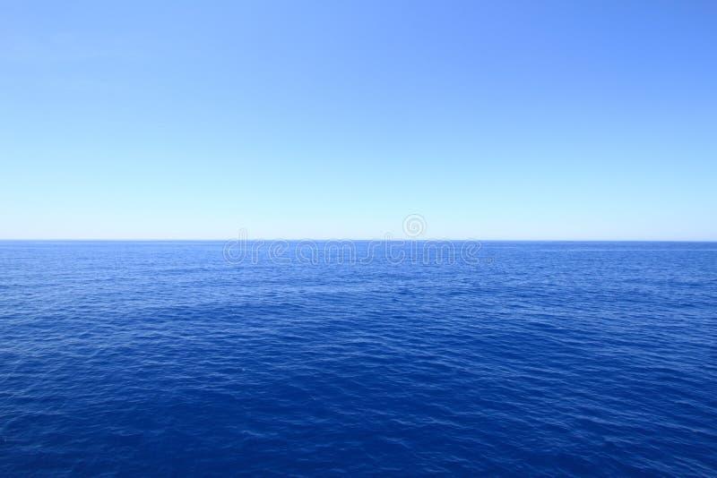 Blauwe horizon royalty-vrije stock fotografie