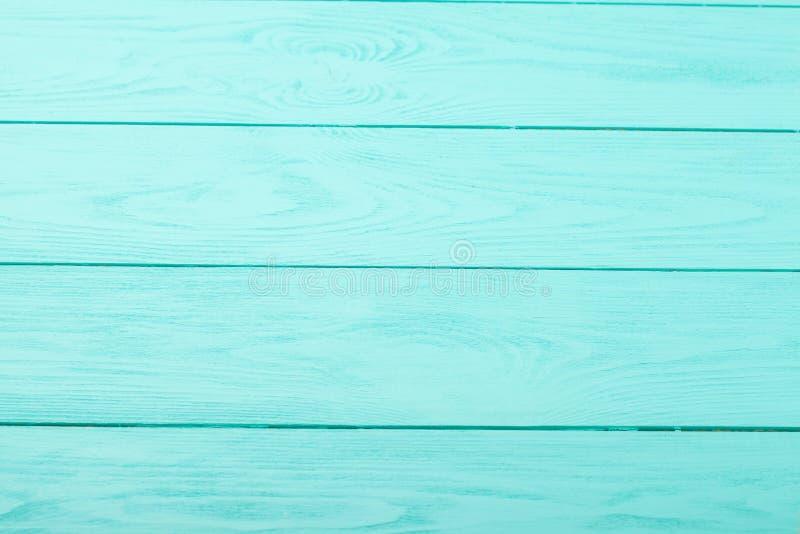 Blauwe houten achtergrond Hoogste mening Spot omhoog De ruimte van het exemplaar Malplaatje en lege houten textuur royalty-vrije stock afbeeldingen