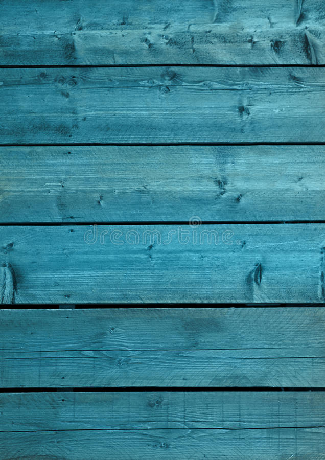 Blauwe houten oude achtergrondtextuur en grunge royalty-vrije stock afbeelding
