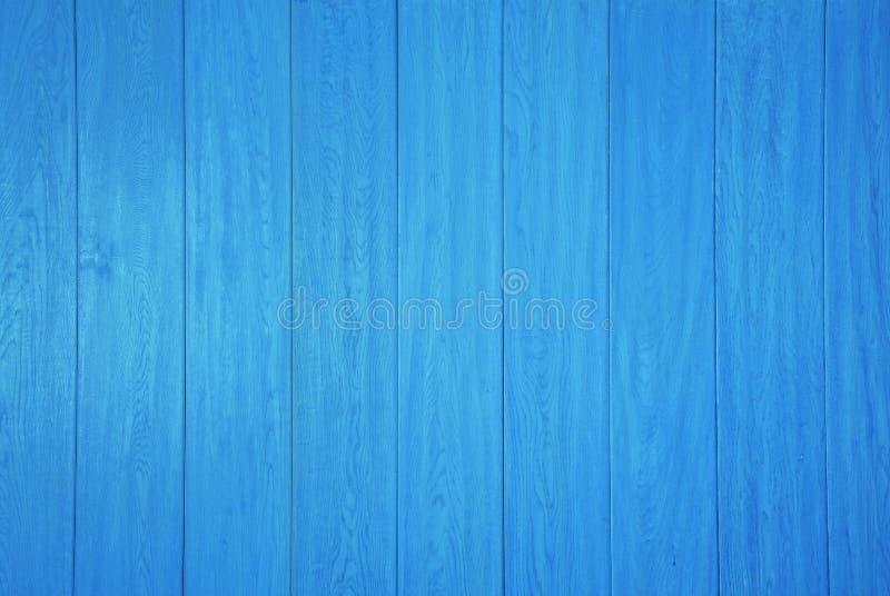 Blauwe houten paneelachtergrond stock afbeeldingen