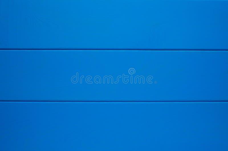 Blauwe houten textuurachtergrond stock foto