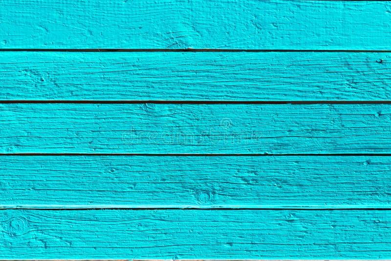 Blauwe houten textuurachtergrond Houten de plankentextuur van het pastelkleur blauwe gekleurde hout royalty-vrije stock foto
