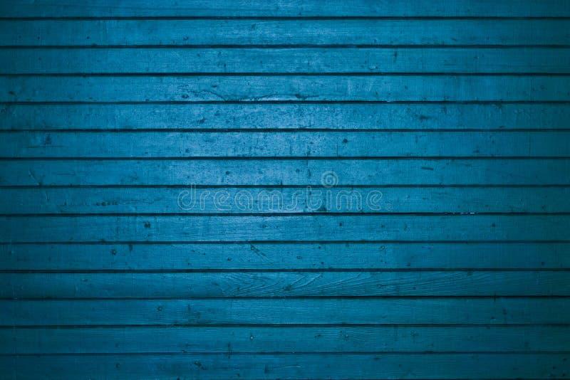 Blauwe houten vrachtdeur royalty-vrije stock foto
