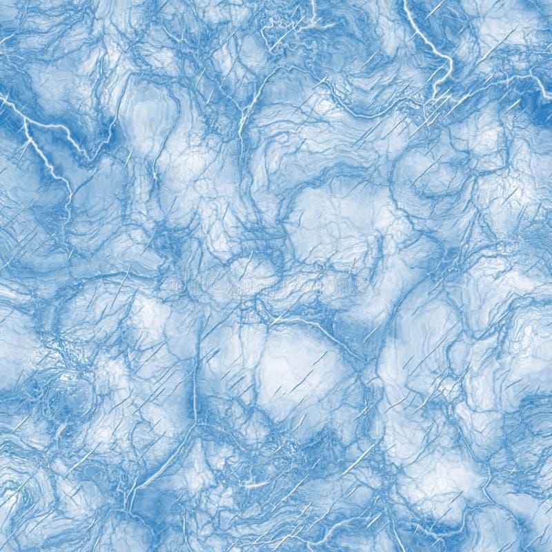 Blauwe ijstextuur stock illustratie