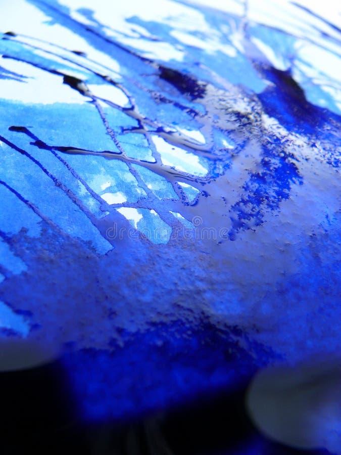 Blauwe Inkt royalty-vrije stock foto's