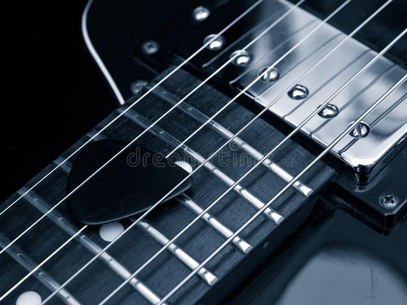 Blauwe jazz stock foto