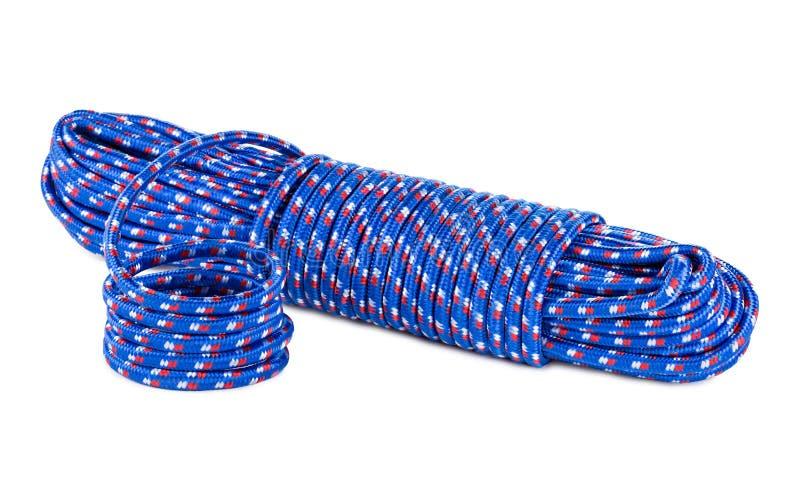 Blauwe kabel royalty-vrije stock afbeelding