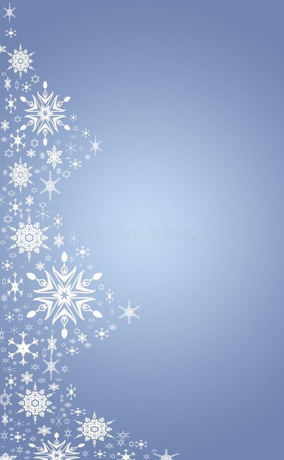 Blauwe Kerstmisboom vector illustratie
