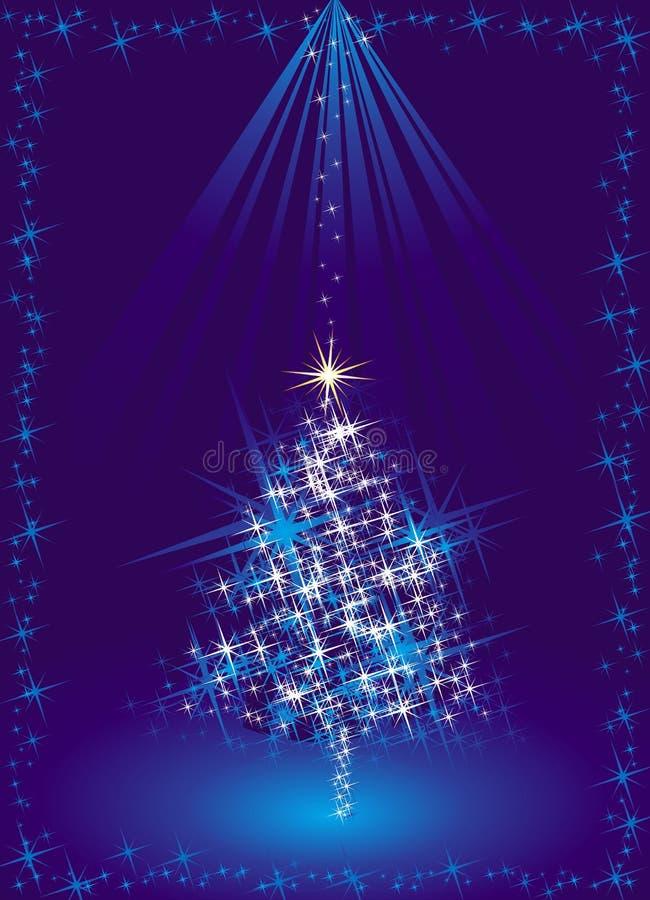Blauwe Kerstmisboom