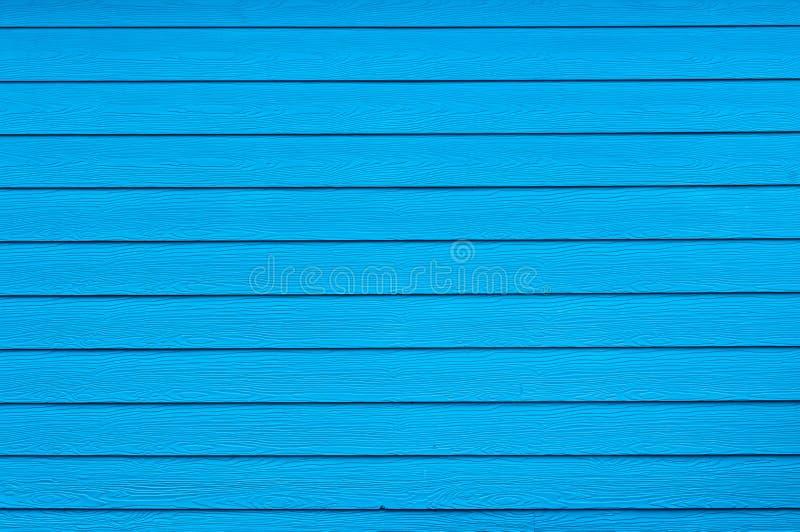 Blauwe kleur van houten muur royalty-vrije stock fotografie