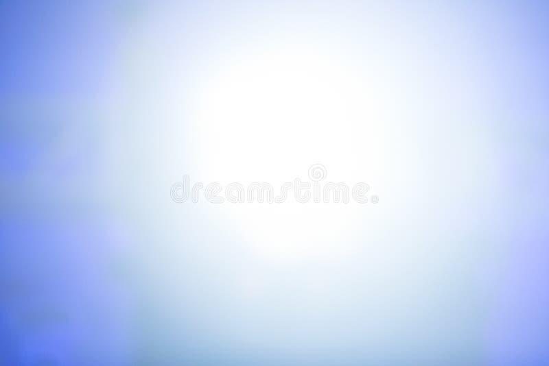 Blauwe kleur van onscherp licht voor achtergrond royalty-vrije stock foto
