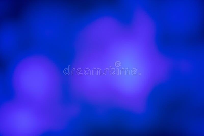 Blauwe kleur van onscherp licht voor achtergrond royalty-vrije stock foto's