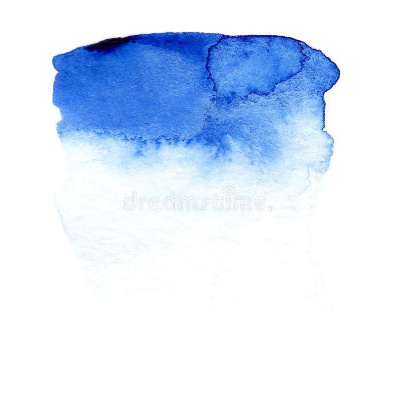 Blauwe kleurengradiënt als achtergrond voor banner, kaart vector illustratie