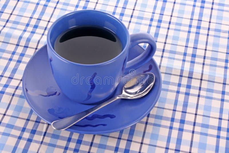 Blauwe kop thee stock fotografie