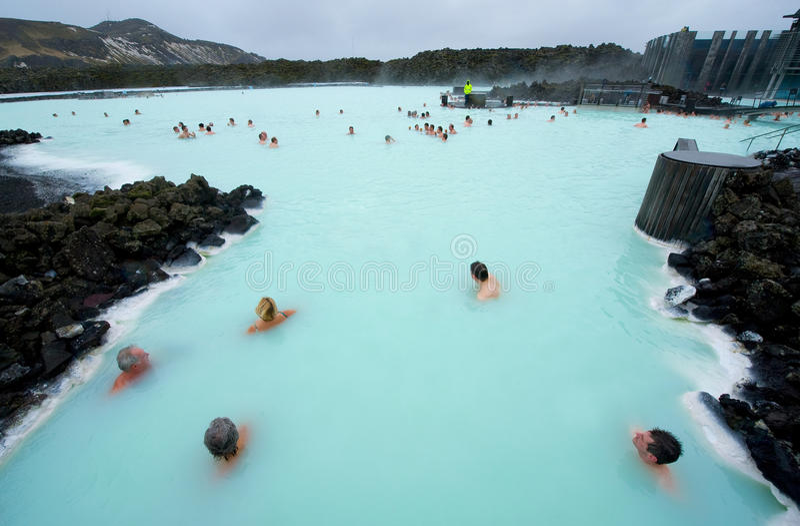 Blauwe Lagune stock afbeelding