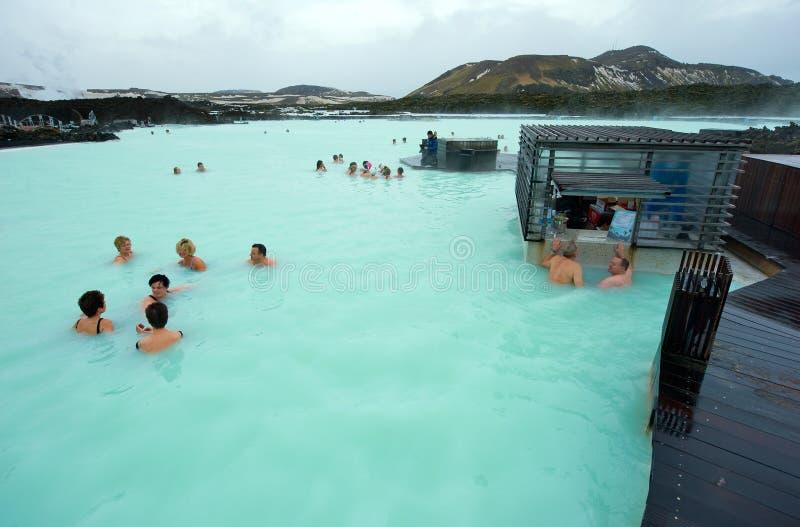 Blauwe Lagune royalty-vrije stock fotografie