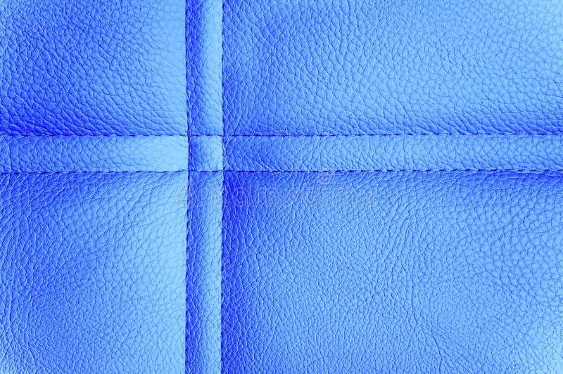 Blauwe leerachtergrond royalty-vrije stock fotografie