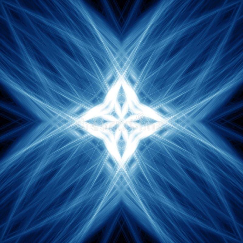 Blauwe Lichten royalty-vrije illustratie