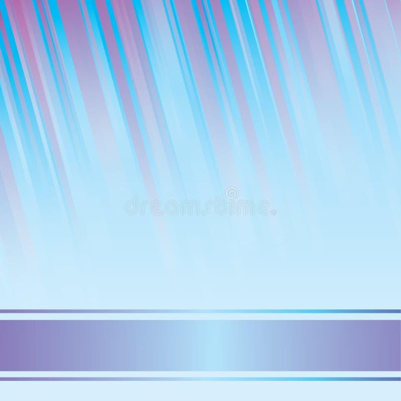 Blauwe lichtgevende stralen. EPS 8 vector inbegrepen dossier vector illustratie