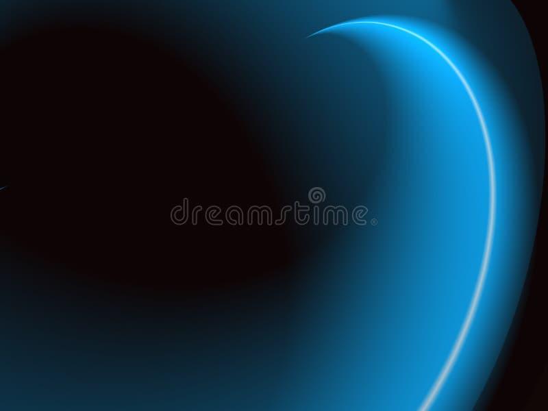 Blauwe Lightway vector illustratie