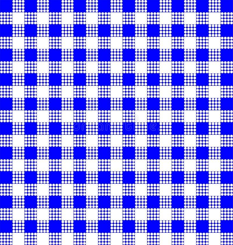 Blauwe lijn als achtergrond royalty-vrije illustratie