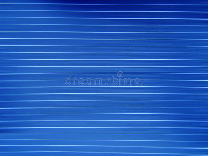 Blauwe Lijnen vector illustratie