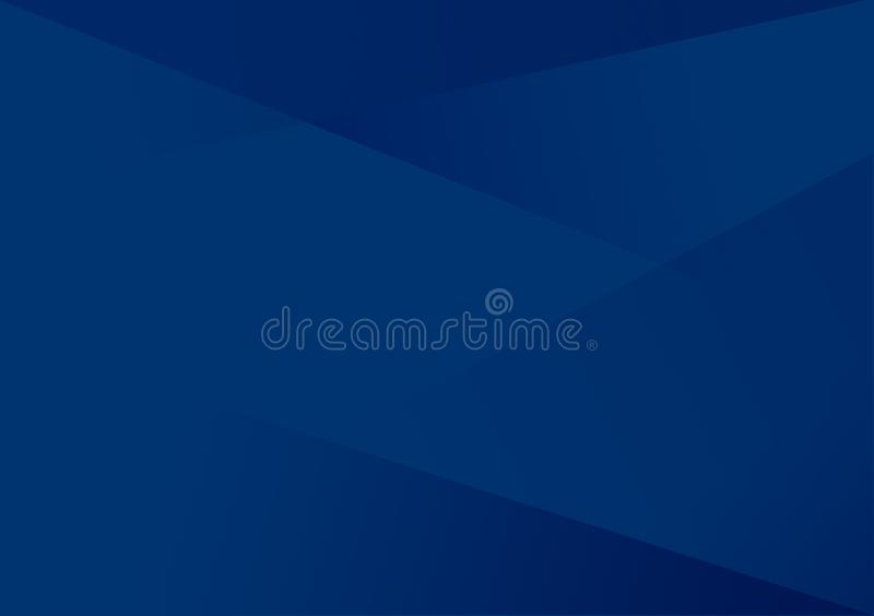 Blauwe lineaire vorm achtergrondgradiëntachtergrond royalty-vrije illustratie
