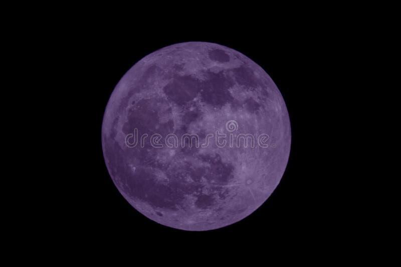 Blauwe maan royalty-vrije stock afbeelding