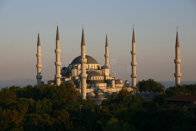 Blauwe moskee 2 royalty-vrije stock foto
