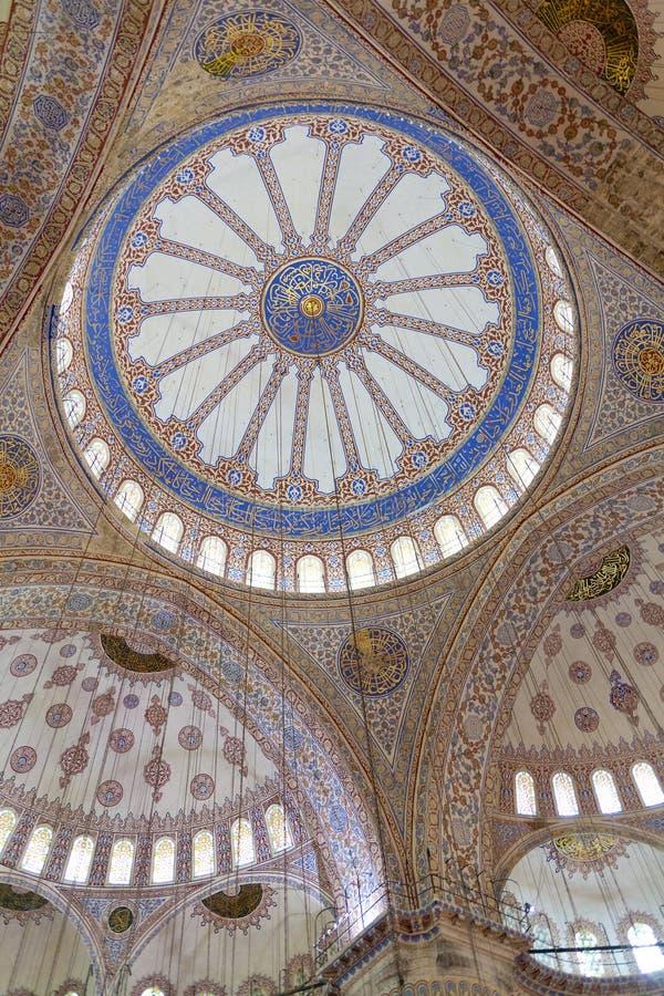 Blauwe Moskee stock foto