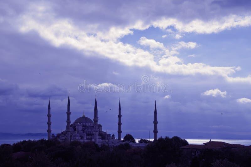 Blauwe Moskee Istanboel royalty-vrije stock fotografie