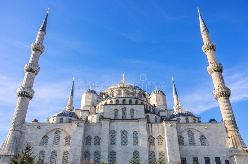 Blauwe Moskee, Istanboel stock foto