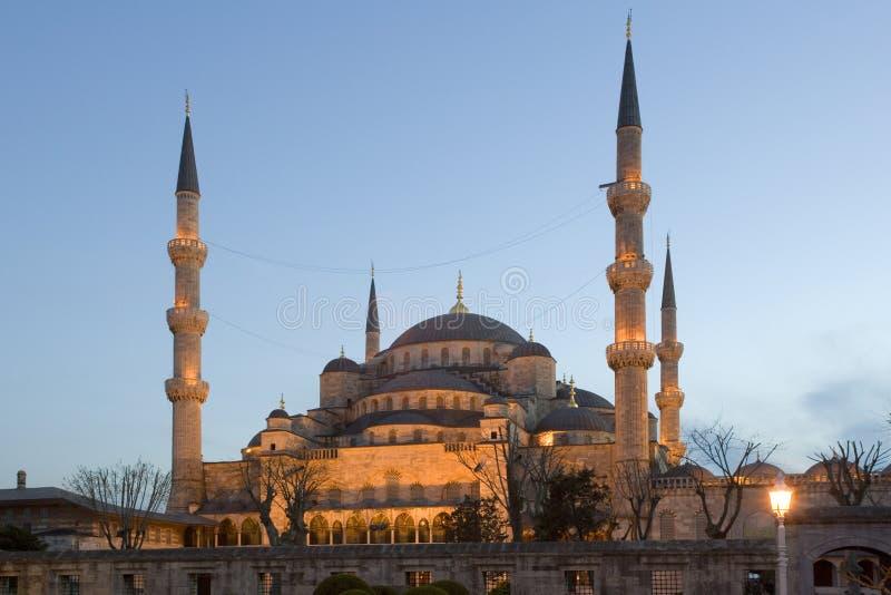 Blauwe Moskee - Istanboel - Turkije royalty-vrije stock afbeeldingen