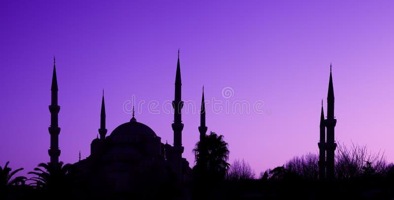 Blauwe Moskee in Istanboel, Turkije stock fotografie