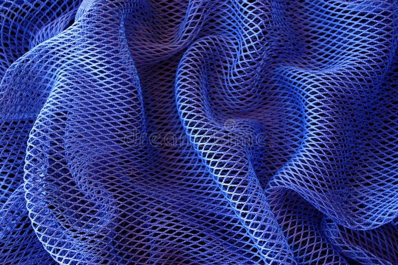 Blauwe Netto Achtergrond stock fotografie
