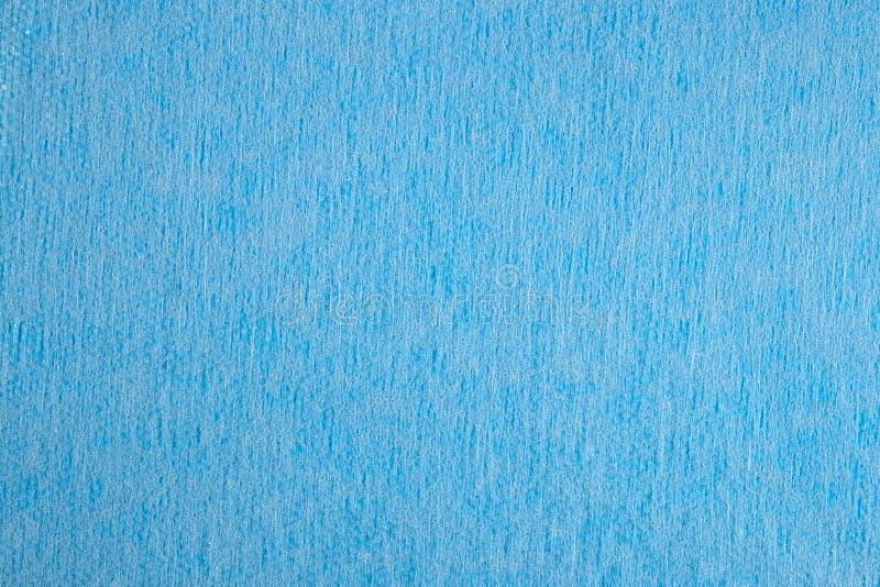 Blauwe niet-geweven stoffenachtergrond royalty-vrije stock foto's