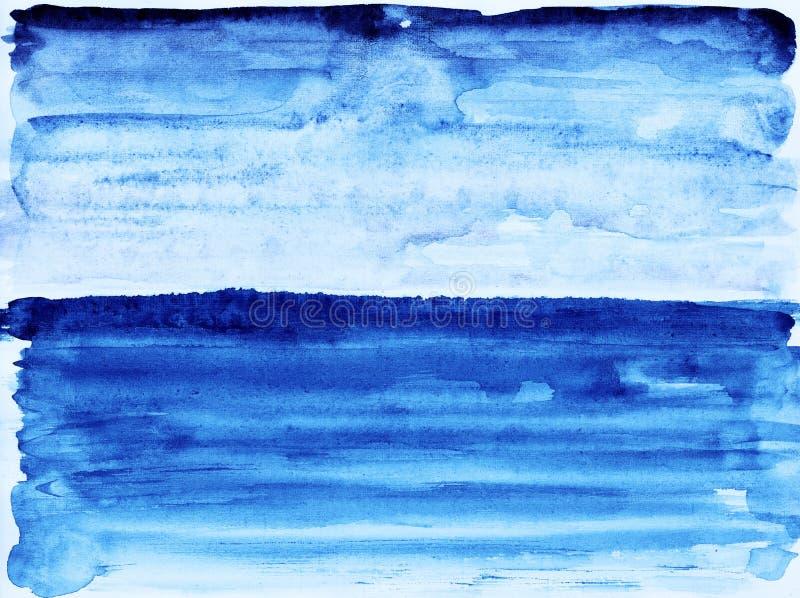 Download Blauwe oceaan. stock illustratie. Illustratie bestaande uit trillend - 39102741