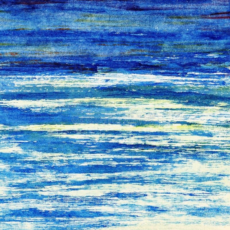 Download Blauwe oceaan. stock illustratie. Illustratie bestaande uit levendig - 39103178