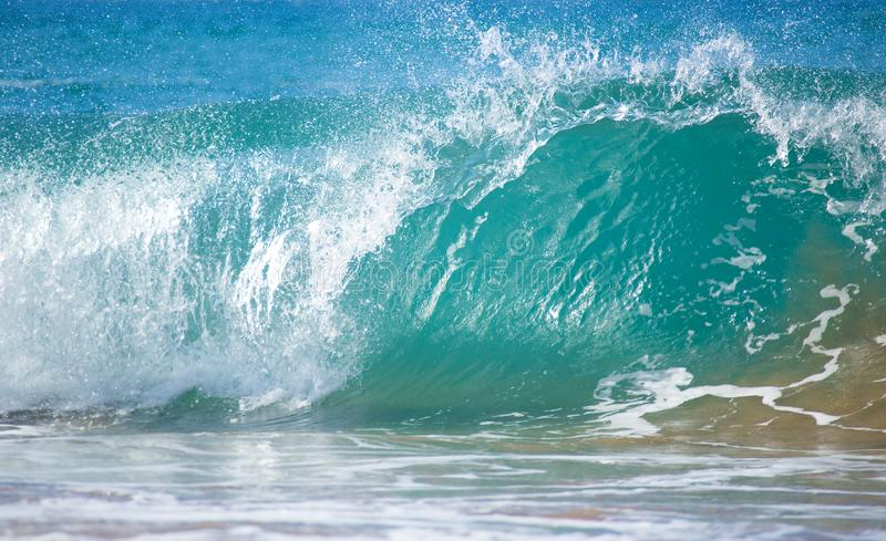 Blauwe OceaanGolf stock fotografie