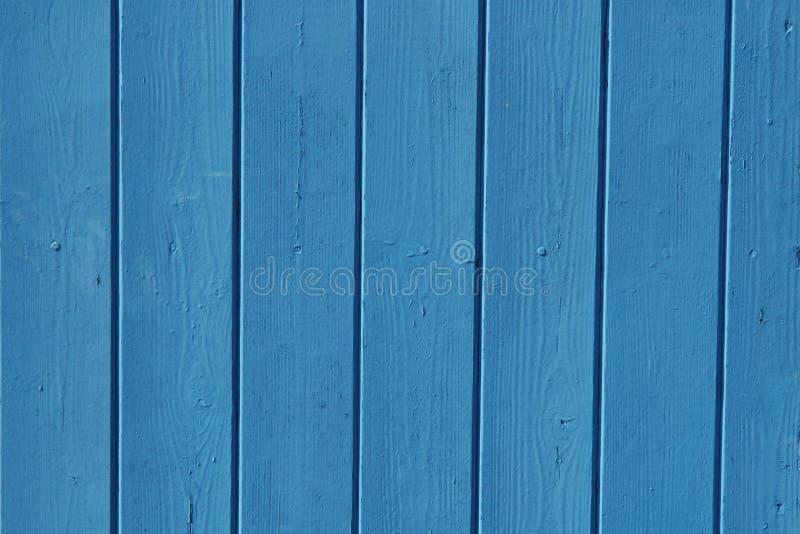 Blauwe omheining stock afbeelding